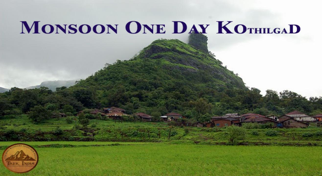 Monsoon One Day Trek to Kothilgad | Trek India