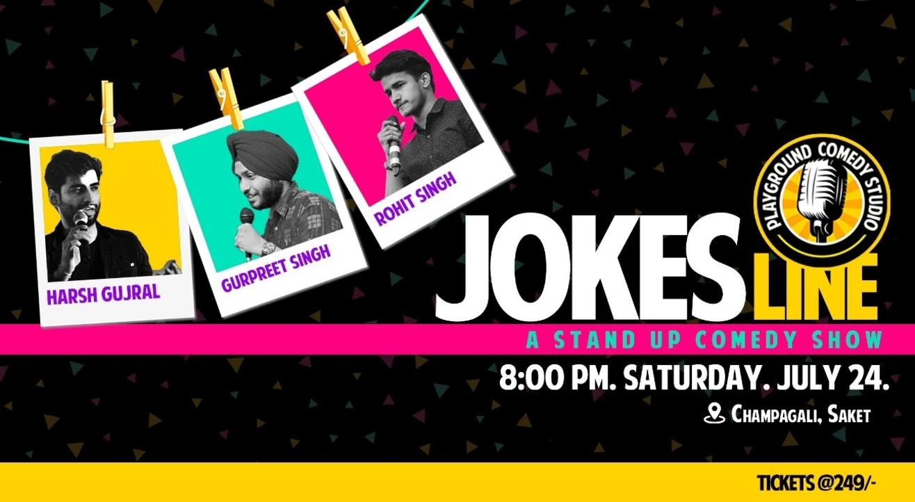 Jokes Line- Stand Up Comedy Show