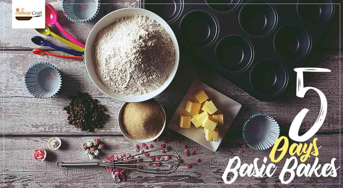 Basic Bakes Workshop By Culinary Craft