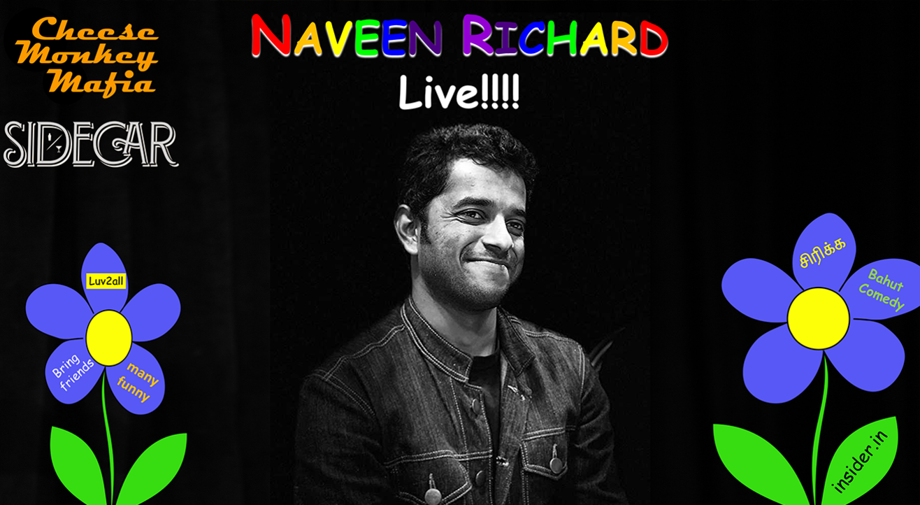 Naveen Richard Live