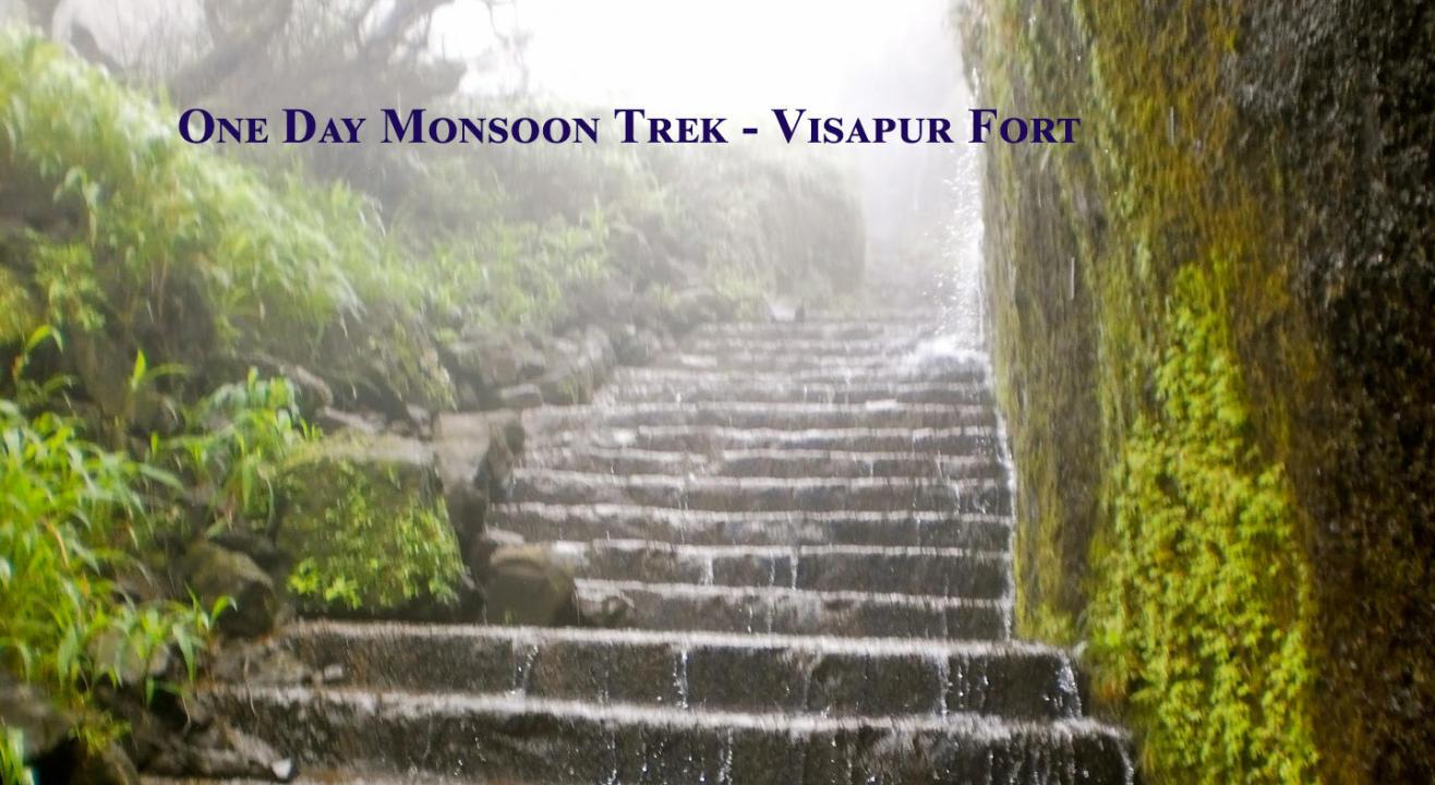 Monsoon One Day Trek to Visapur | Trek India