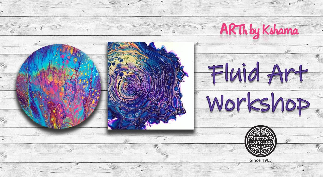 Fluid Art Workshop- ARTh by Kshama