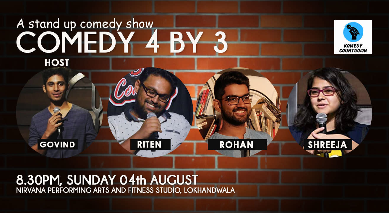 Comedy 4 by 3