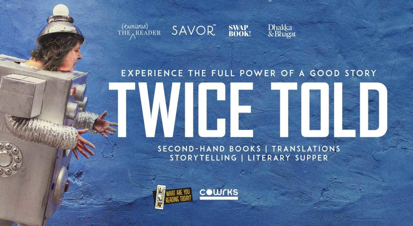 Twice Told – Second-Hand Books | Translations | Storytelling | Literary Supper