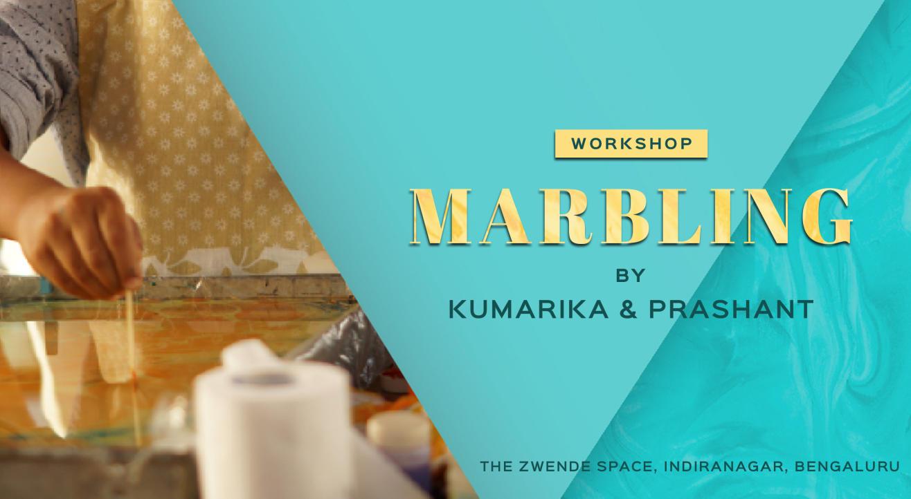 Marbling Workshop by Kumarika & Prashant