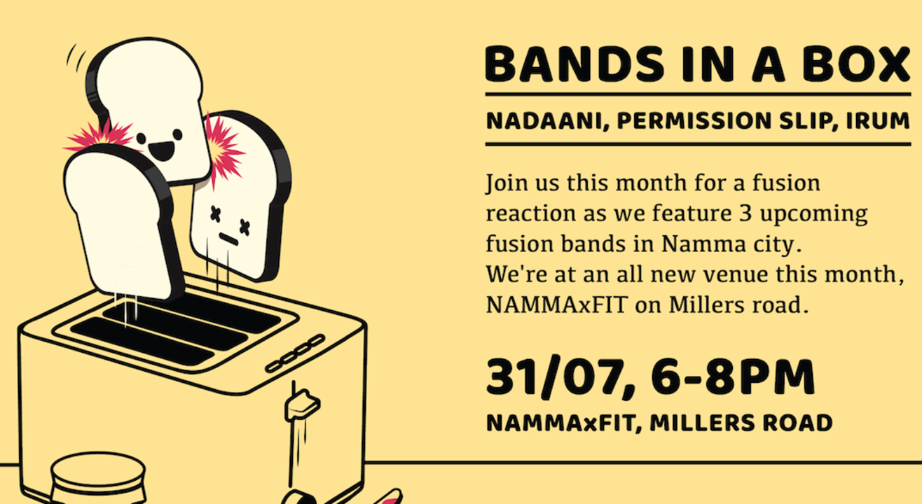 Openjamm Presents : Bands In A Box At Namma Fit