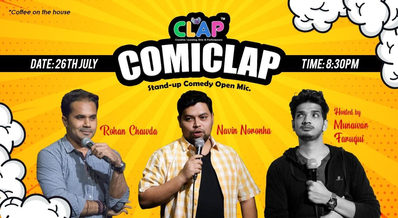 ComiClap Stand-up Comedy Open Mic