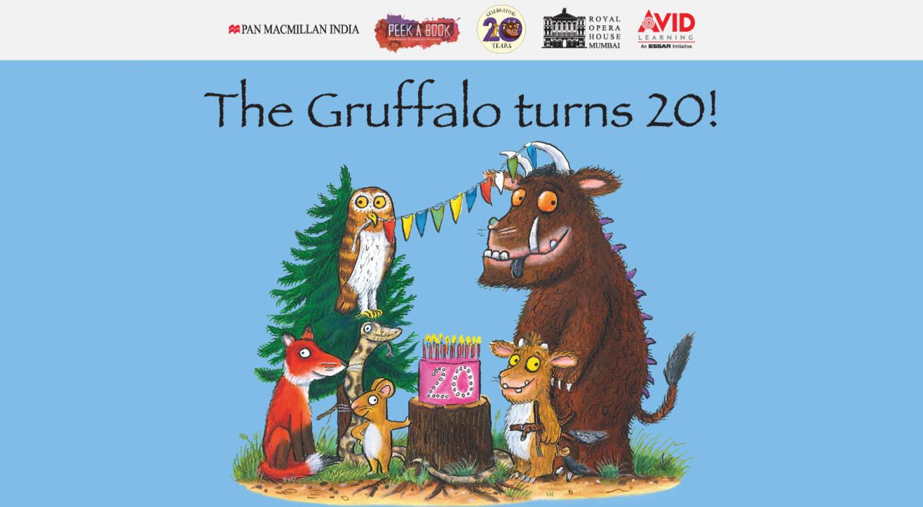 The Gruffalo turns 20!