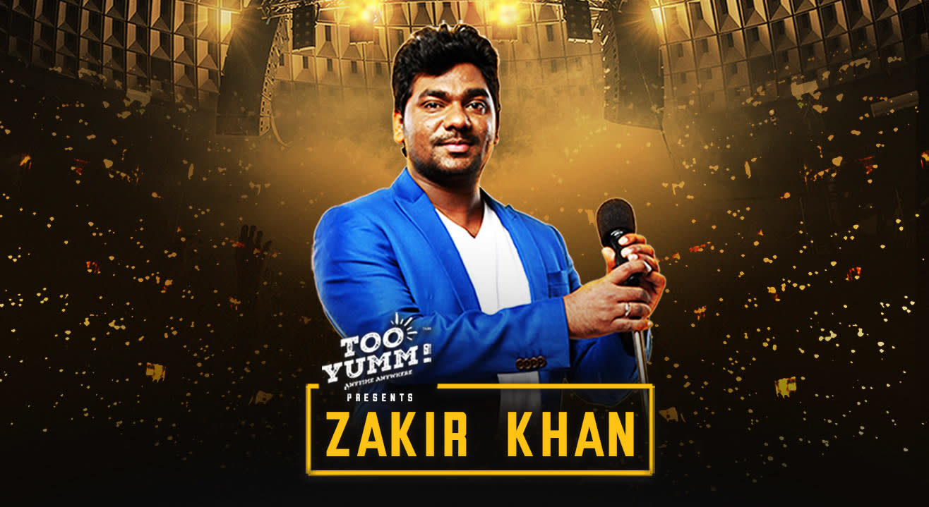 Too Yumm Presents Zakir Khan Live | Mumbai