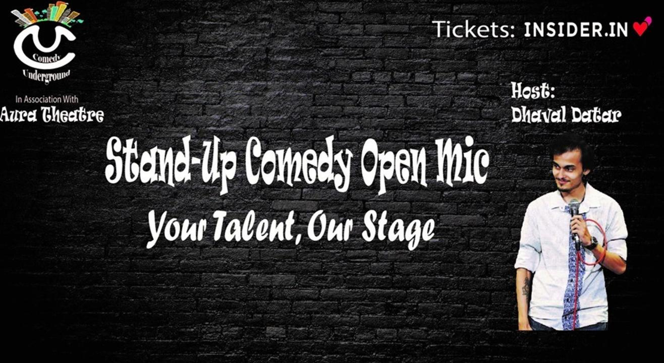 Stand-Up Comedy Open mic with Dhaval Datar