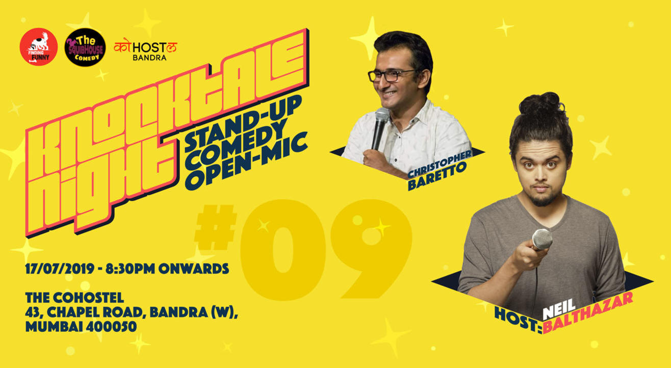 Knocktale Night #9 - Stand up Comedy Open Mic