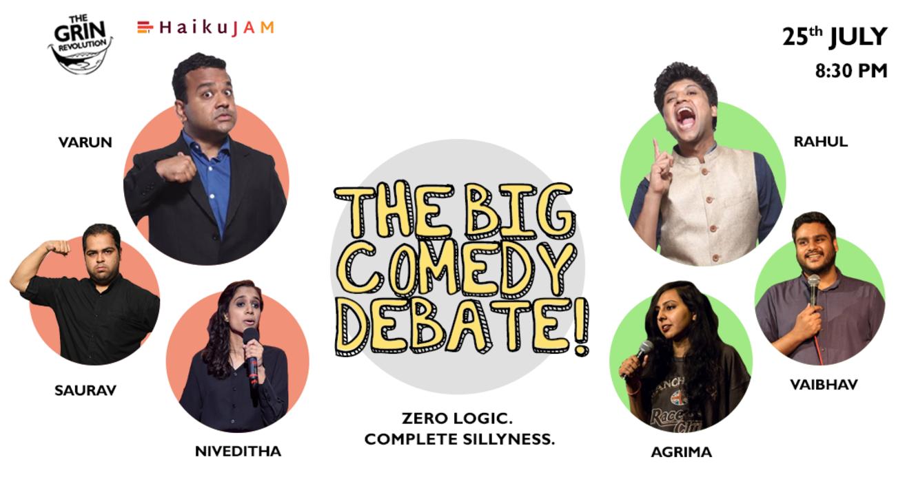 Grin Revolution: The Big Comedy Debate!