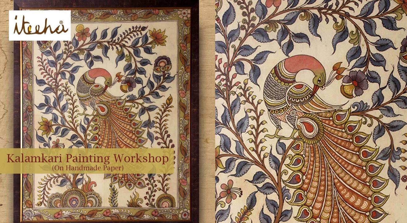 Kalamkari Painting Workshop ( Handmade Paper)