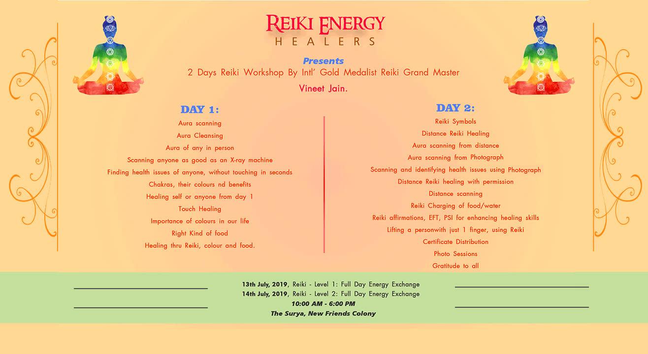 Reiki Healing Workshop By Grand Master Vineet Jain