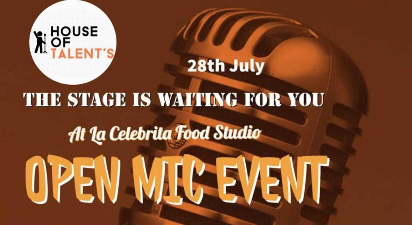 House Of Talent's Open Mic Event