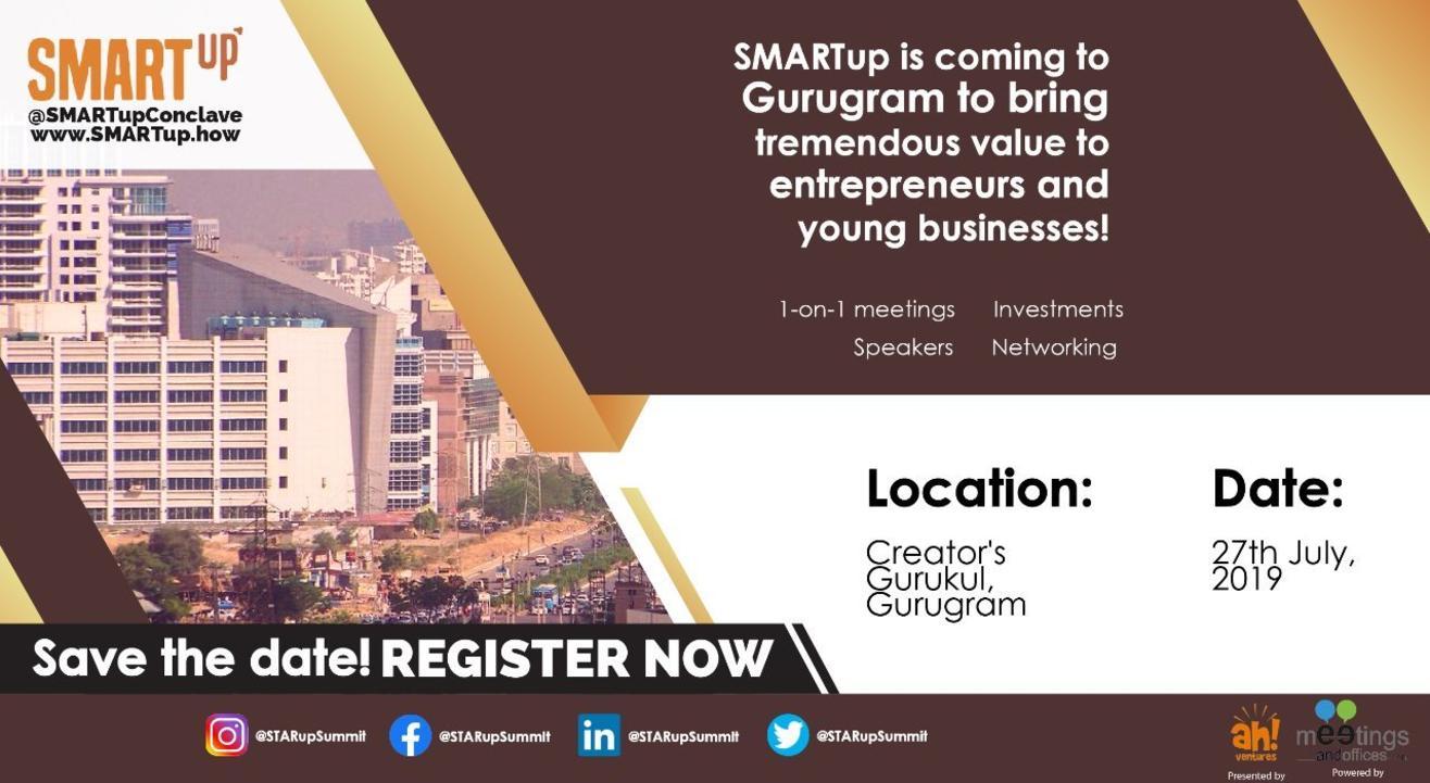 SMARTup Gurugram 2019