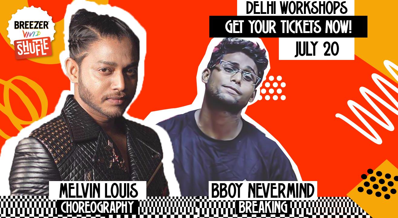 Breezer Vivid Shuffle Dance Workshop | Delhi Edition