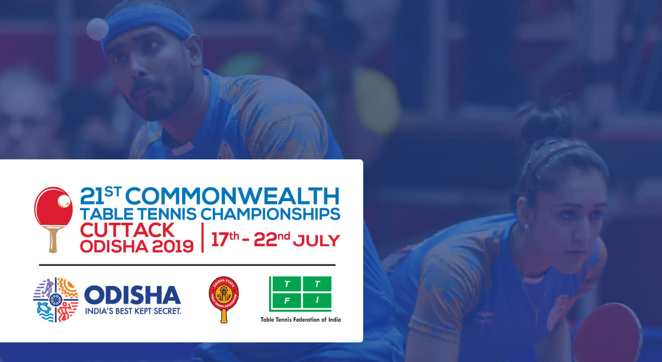 Official Ticketing Partner - 21st Commonwealth Table Tennis