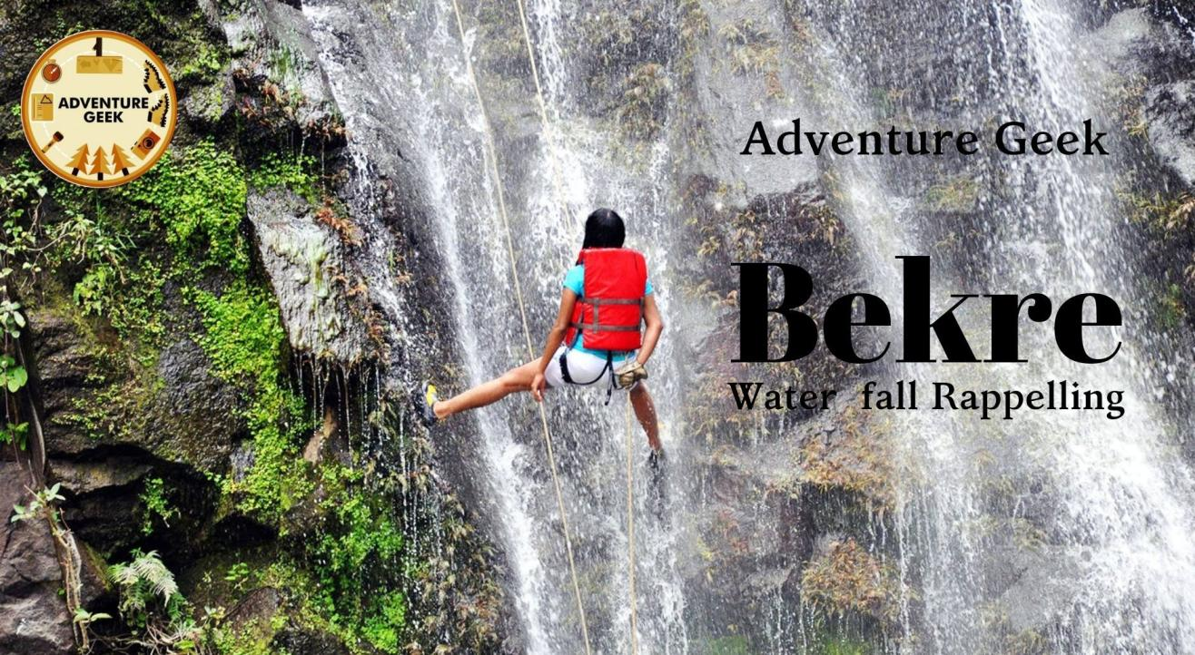 Waterfall Rappelling at Bhekre