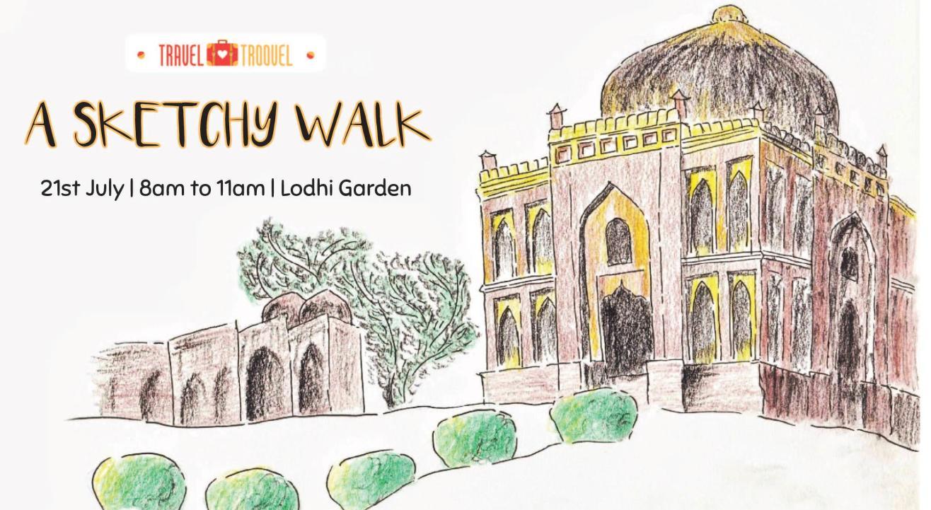 A Sketchy Walk