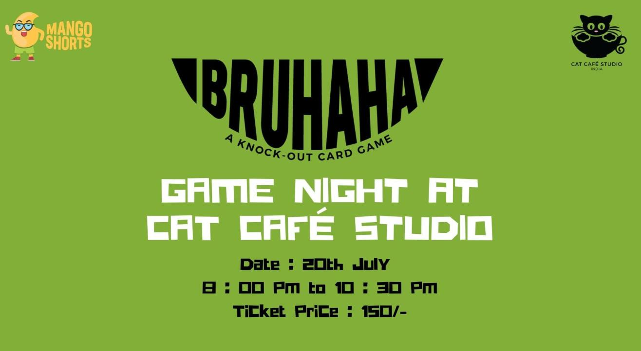 Game Night at Cat Café Studio