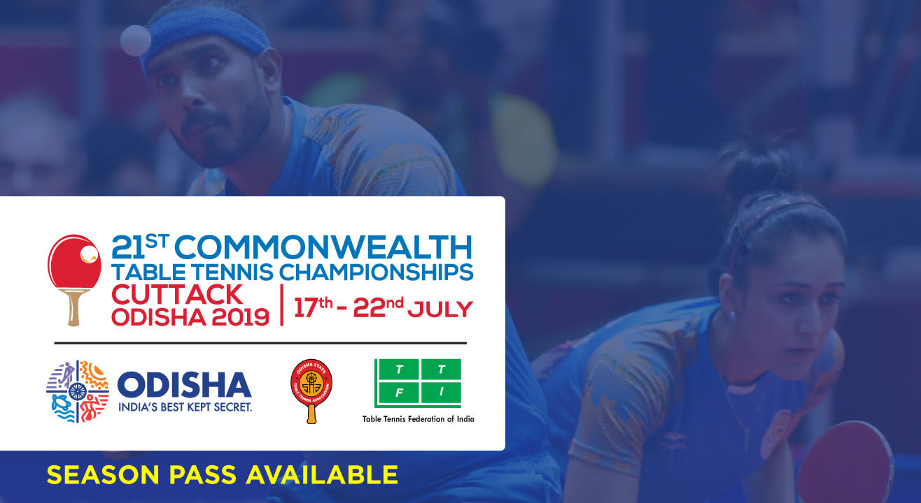 21st Commonwealth Table Tennis Championships 2019 Season Pass