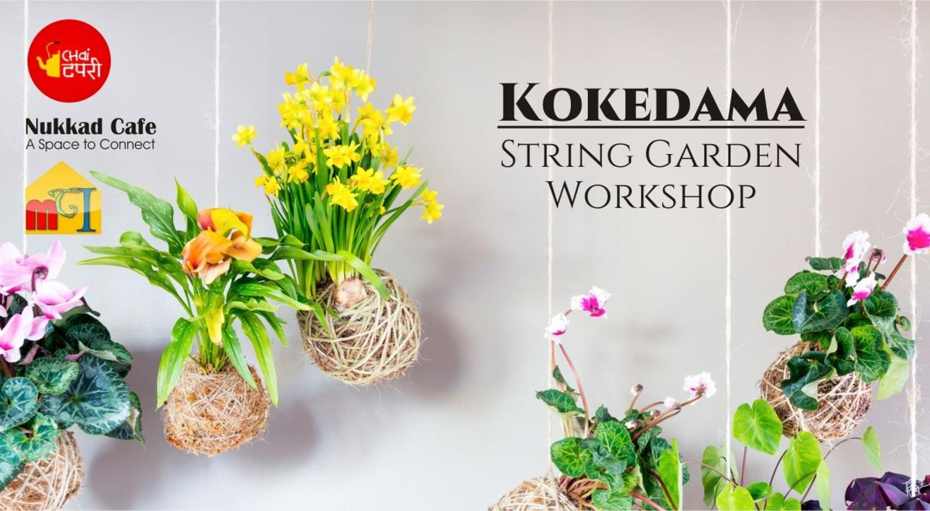 Kokedama - String Garden Workshop