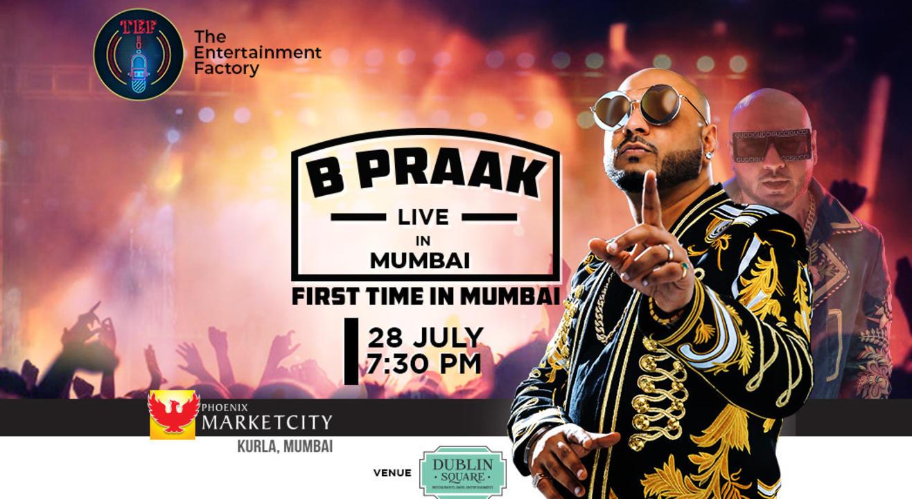TEF Presents 'B- Praak Live'