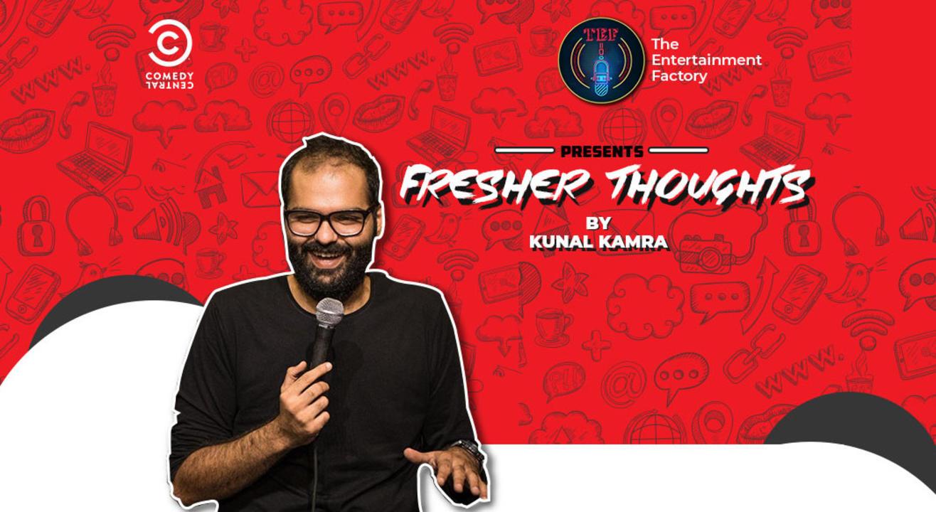 Fresher thoughts by 'Kunal Kamra', Nagpur