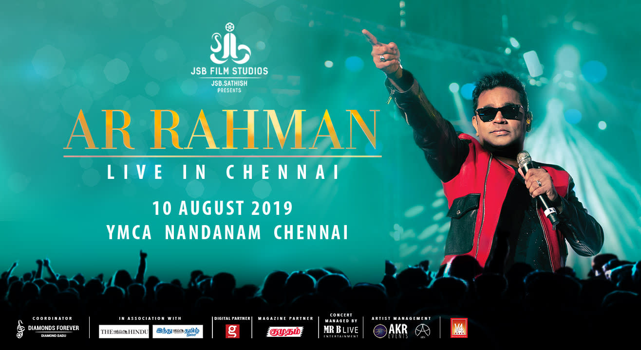AR Rahman Live Concert in Chennai - (Buy Tickets at Insider in)