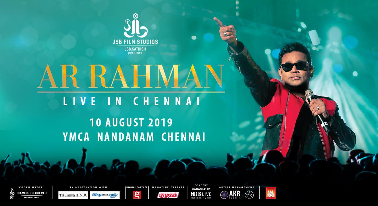 AR Rahman Live In Chennai, 2019