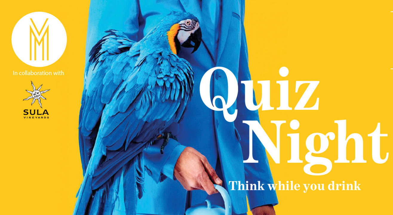 Quiz Night in collaboration with Sula Vineyards
