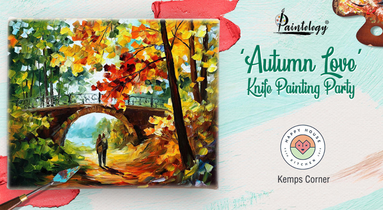 Knife Painting workshop 'Autumn Love'