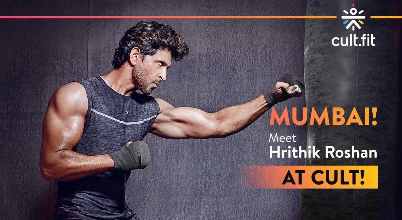 Mumbai meet Hrithik Roshan   Cult-Kandivali