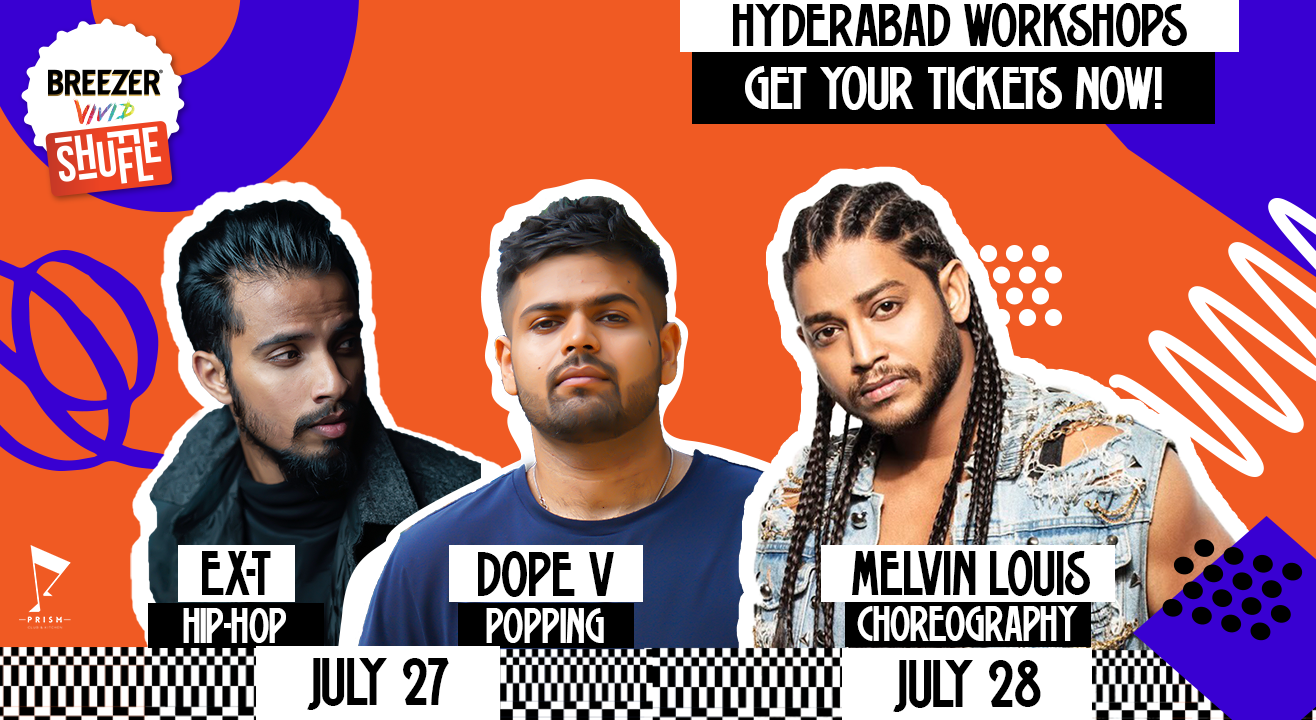 Breezer Vivid Shuffle Dance Workshop | Hyderabad Edition