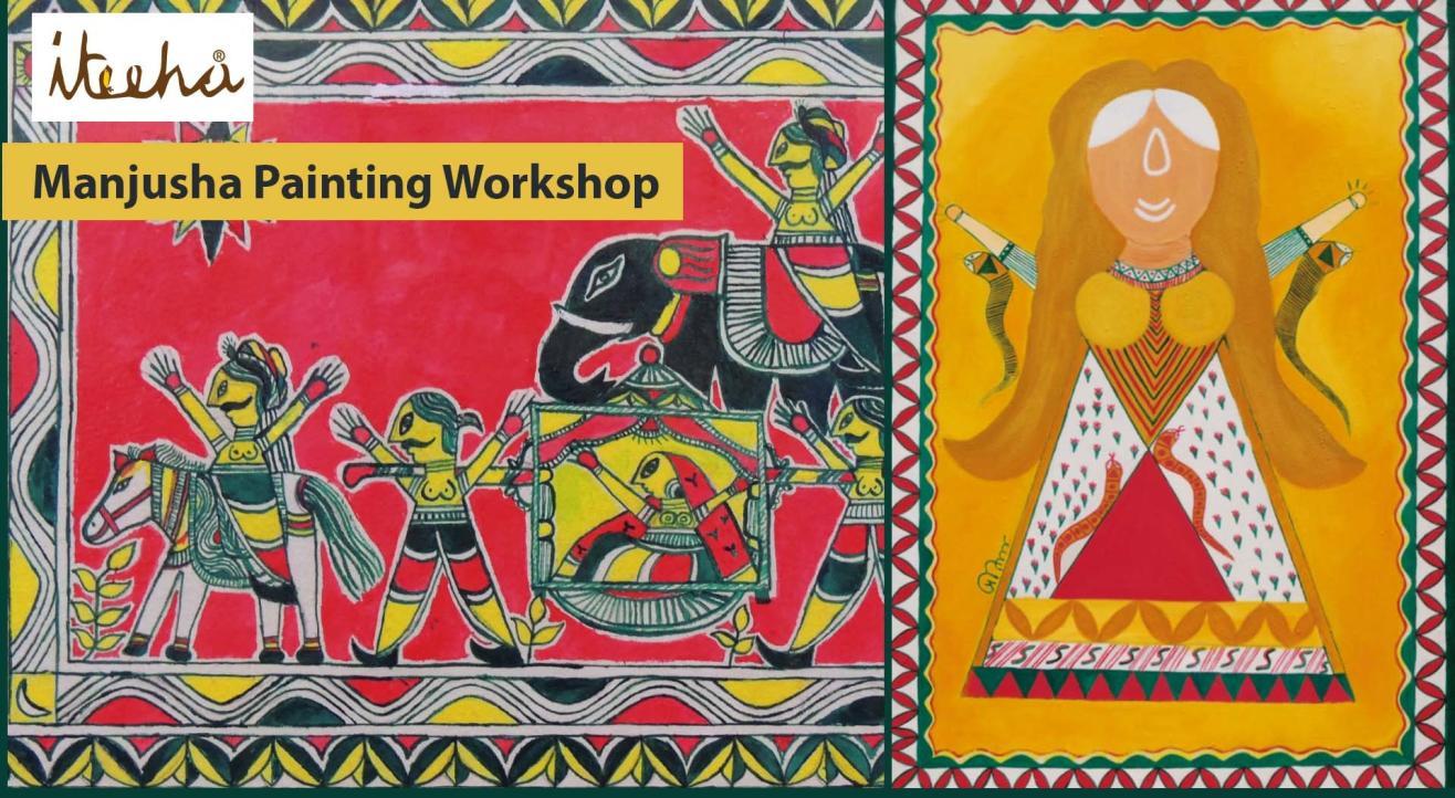 Manjusha Painting Workshop