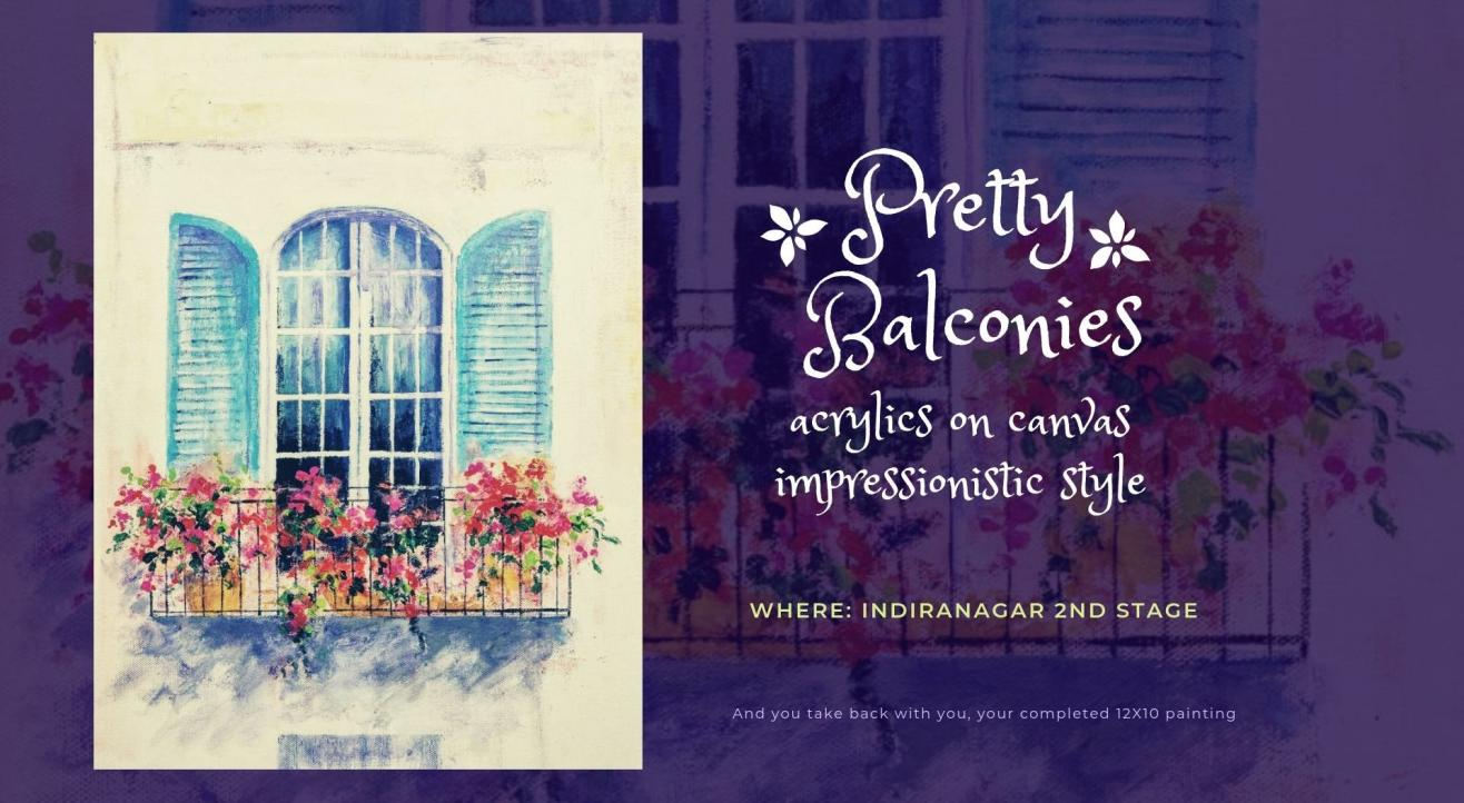 Pretty Balconies Painting Party
