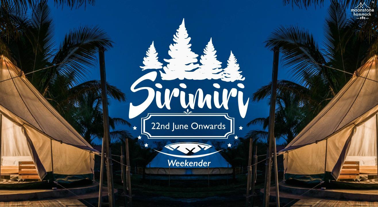 Monsoon Camp - Sirimiri Weekender