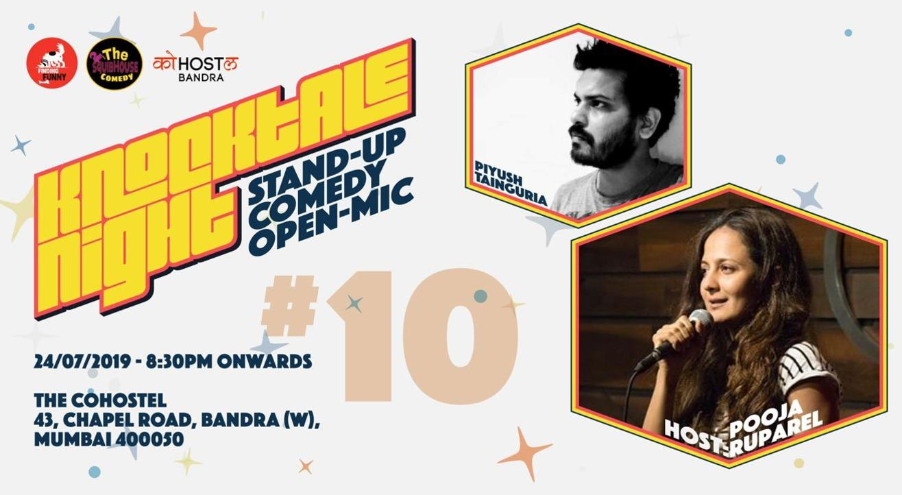 Knocktale Nights #10 - Stand-up Comedy Open Mic
