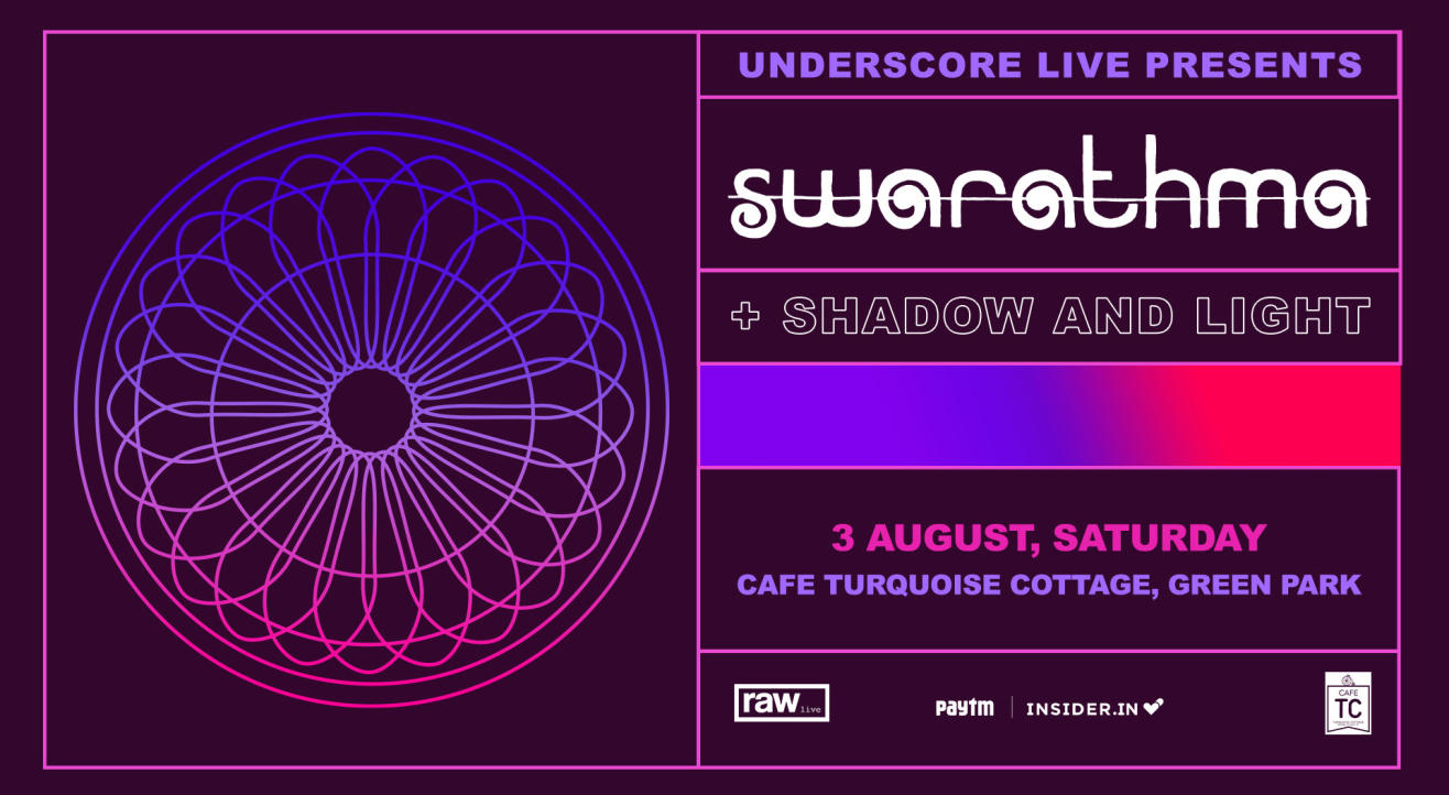 Underscore Live Presents Swarathma and Shadow and Light