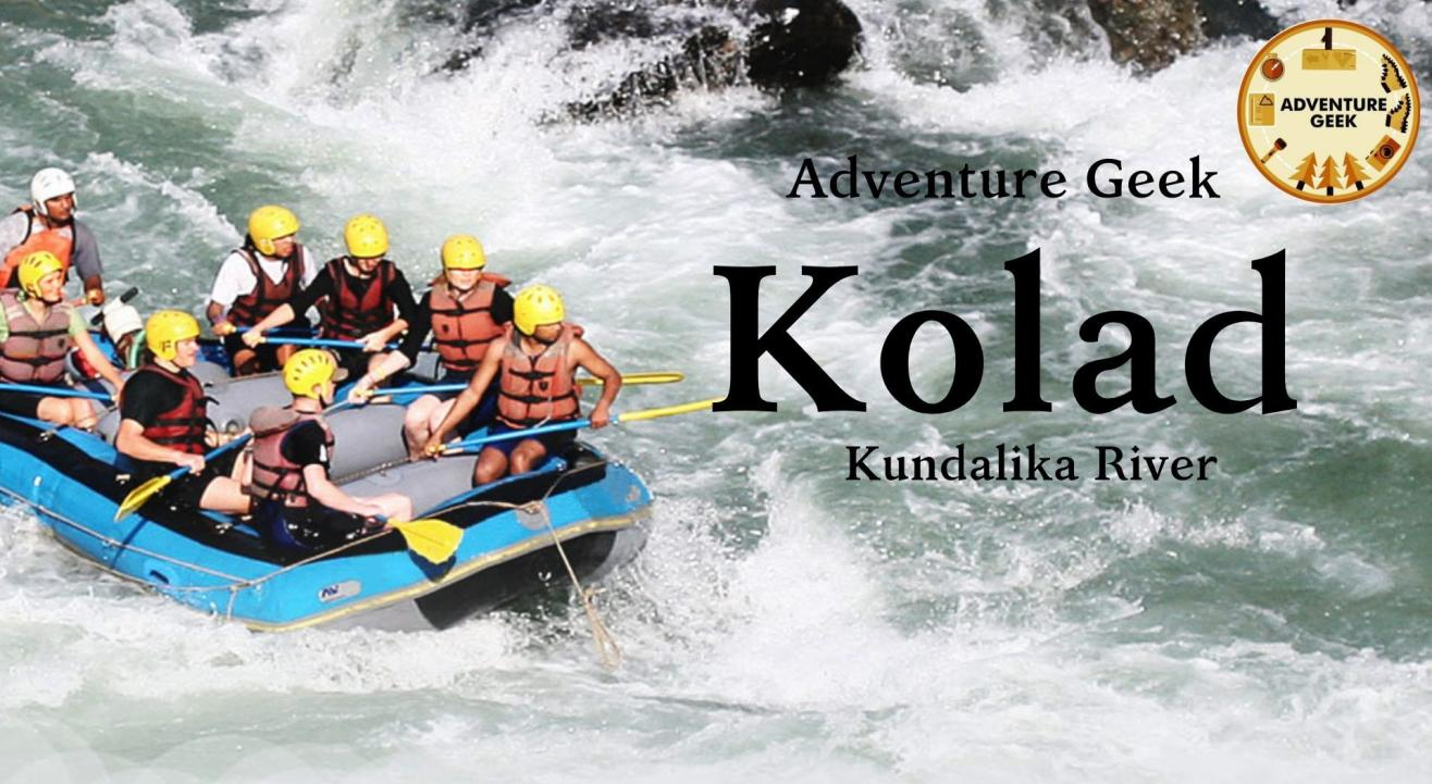 River Rafting at Kolad | Adventure Geek