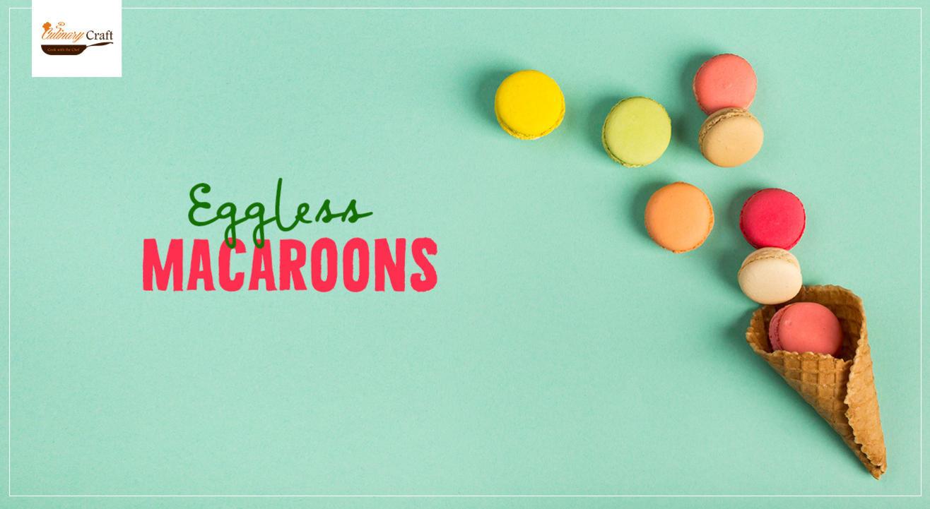 Eggless Macaroons