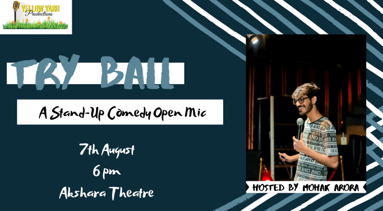 Try Ball: A Stand-up comedy open mic