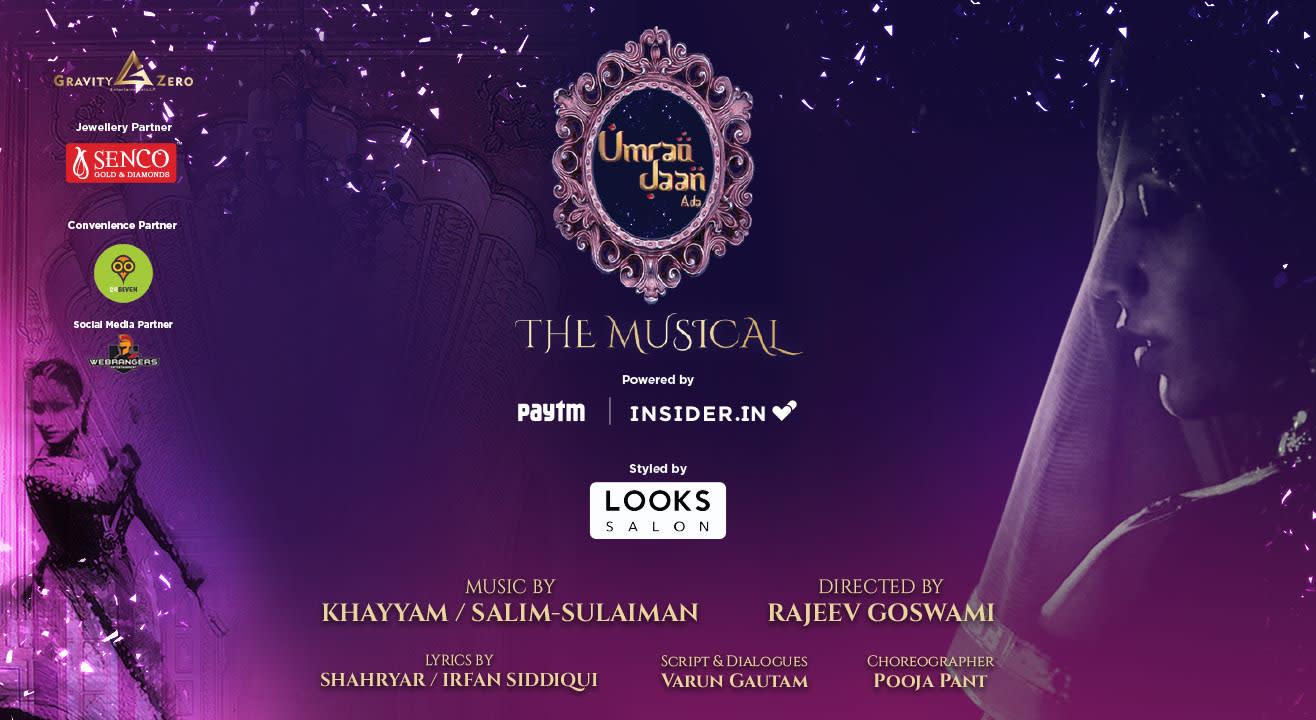 Umrao Jaan Ada - The Musical, Delhi