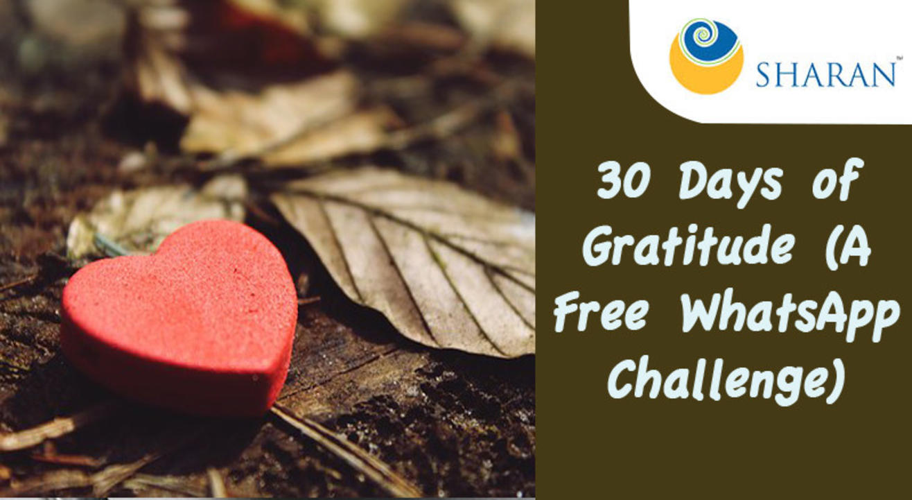 30 Days of Gratitude (A Free WhatsApp Challenge)