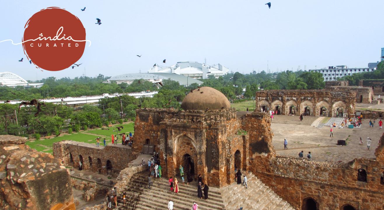 The Citadel of Djinns - Feroz Shah Kotla: An Experience