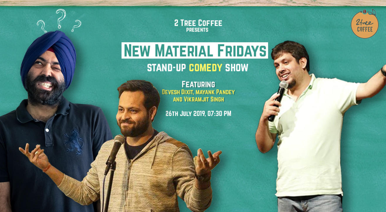 New Material Friday Ft. Devesh Dixit & Mayank Pandey