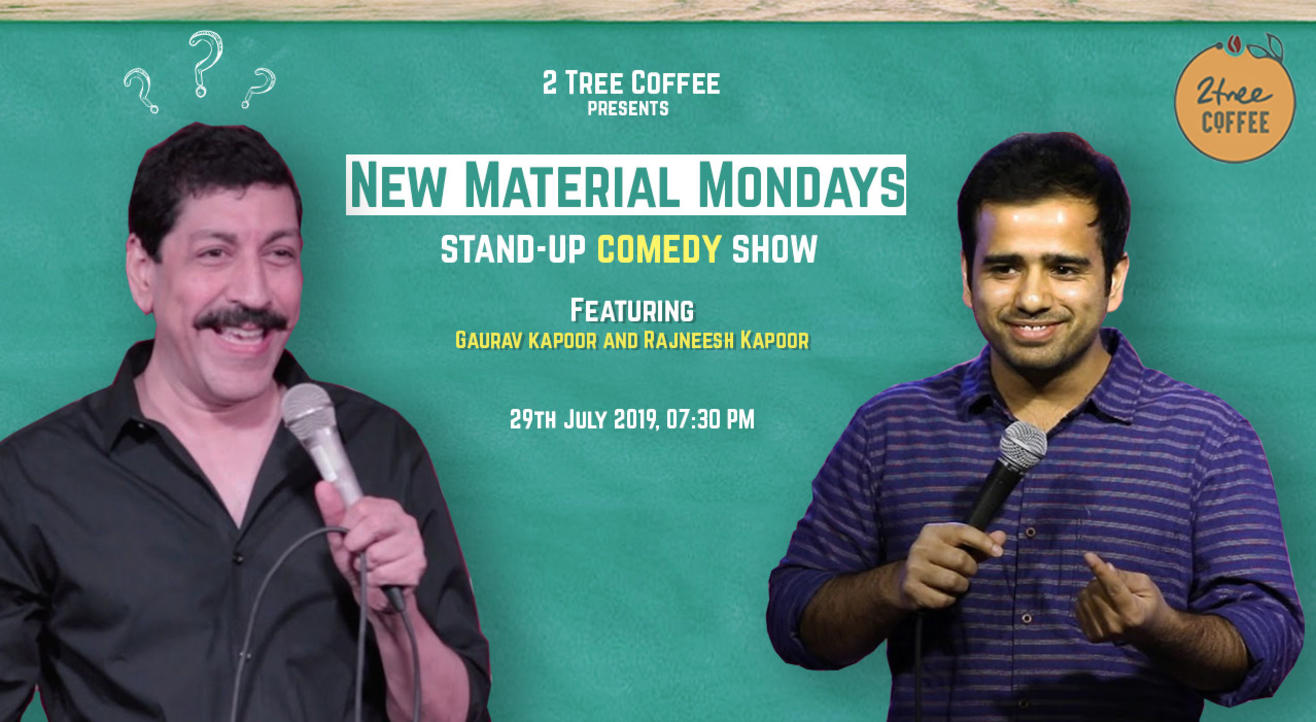 New Material Monday Ft. Gaurav Kapoor & Rajneesh Kapoor