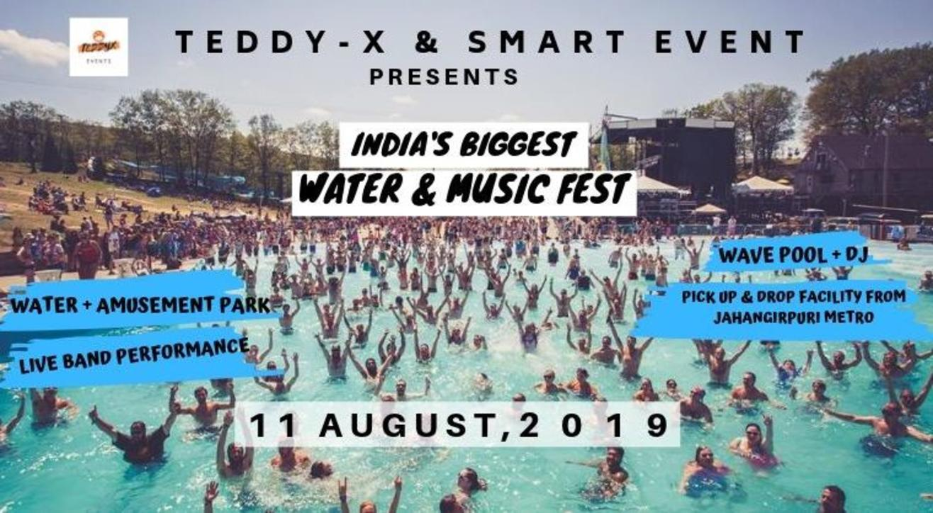 India's Biggest Water & Music Fest Delhi Edition