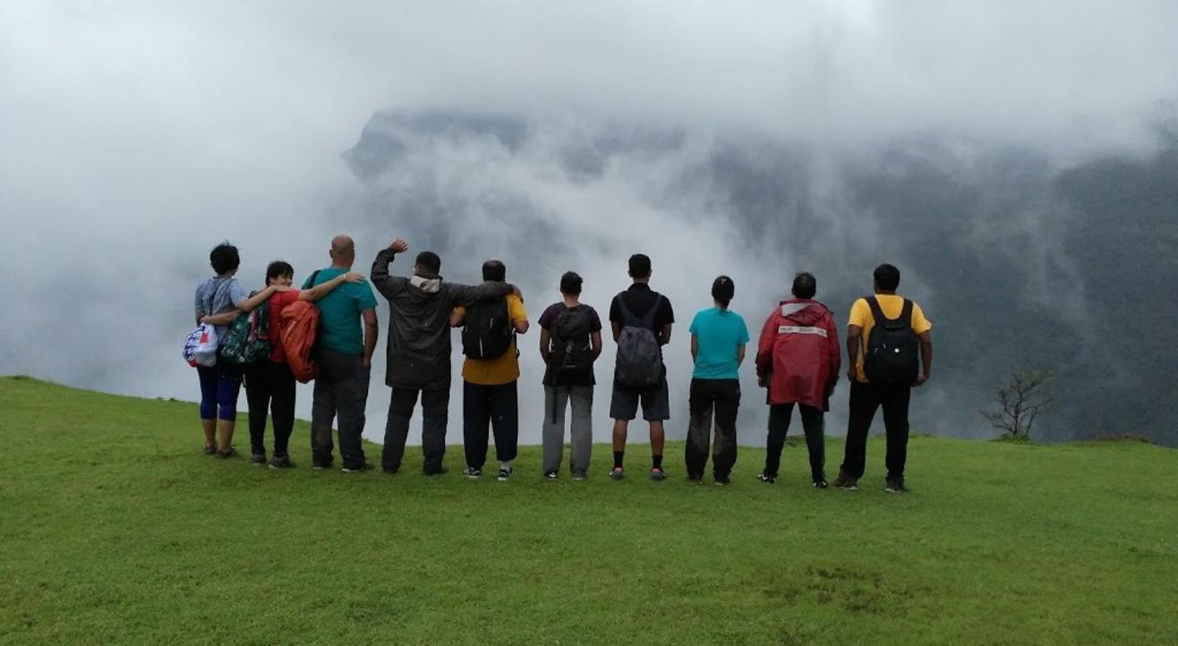Monsoon Trek To Garbett Point with Mumbai Mountain Hikers